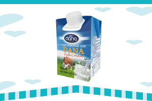 Dana UHT Milk - DANA Milk is a long life milk in tetra pak 500 ml personal size.
