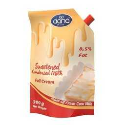 DANA Sweetened Condenesed Milk in Pouch with twist-open cap