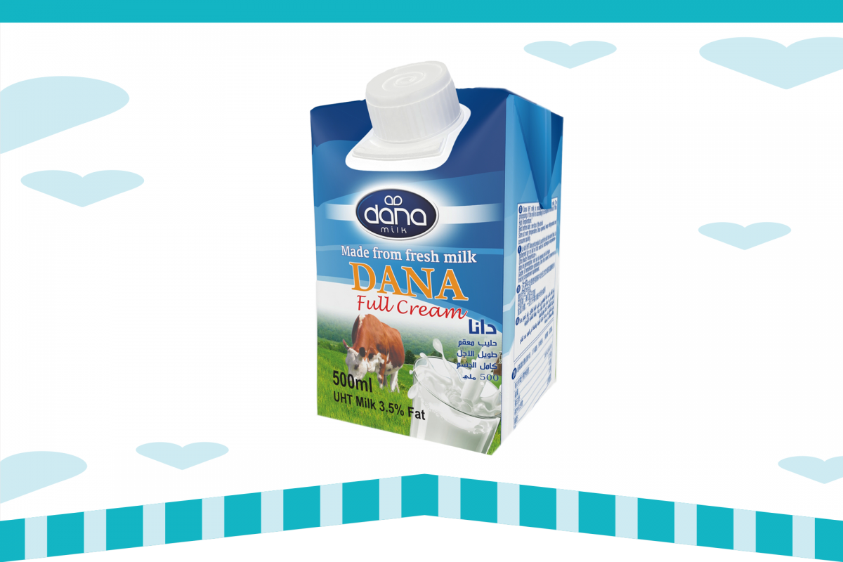 Dana Dairy Uht Milk Long Life Milk In Plastic Bottles