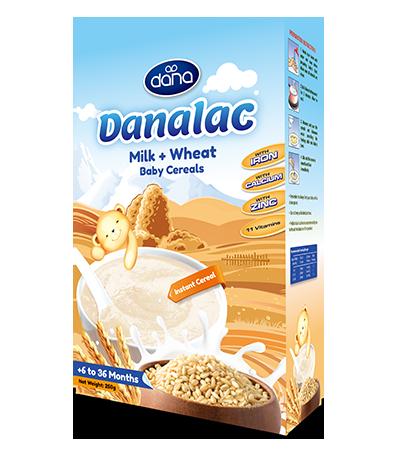 DANALAC baby cereals