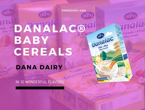 Dana Dairy Introduces DANALAC Baby Cereals
