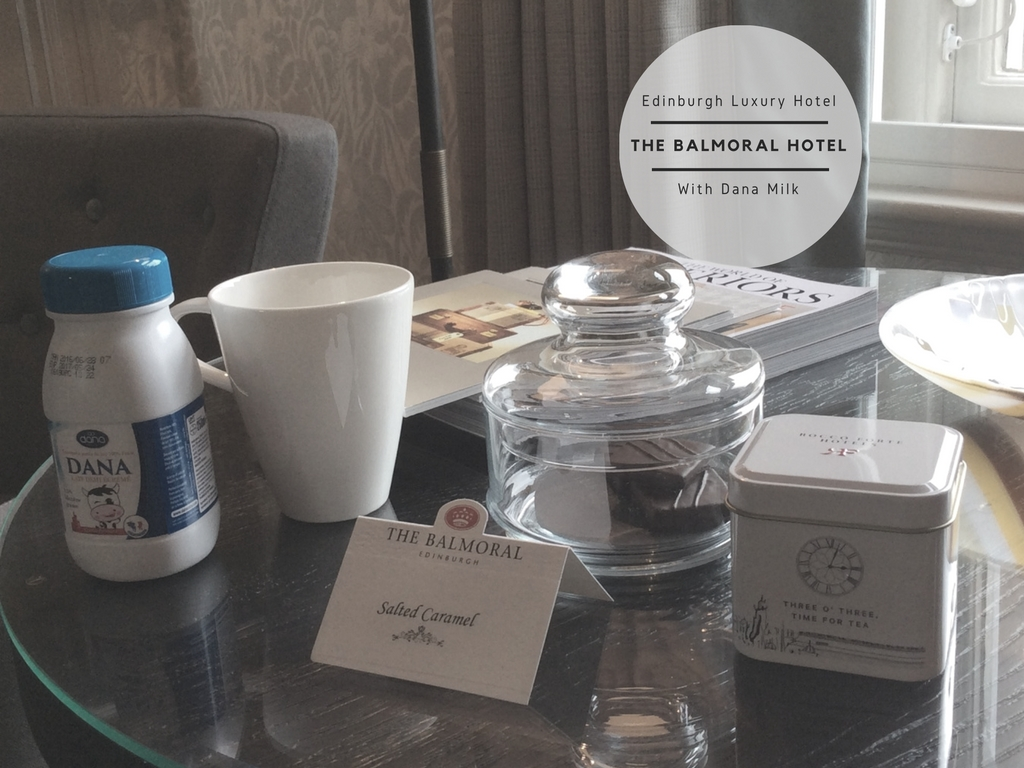 The Balmoral Luxury Hotel in Edinburogh, Scontland With Dana UHT Milk