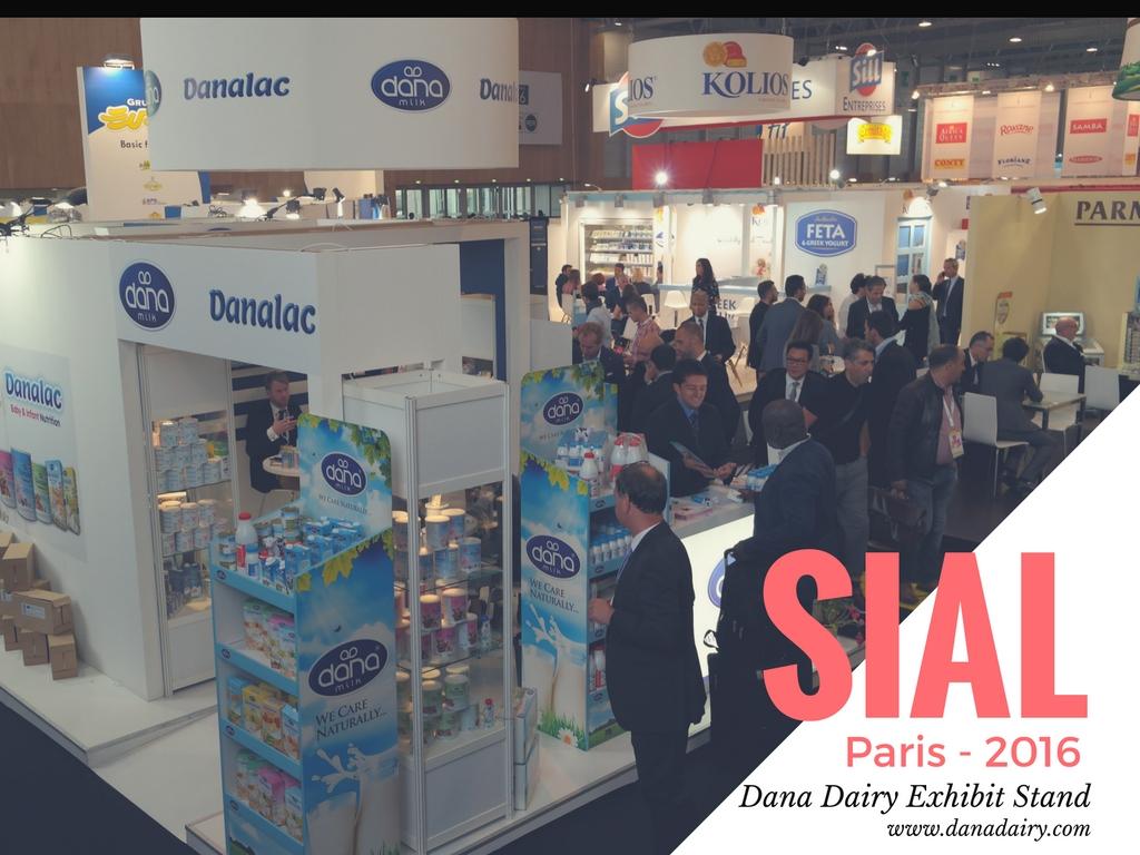 Dana Dairy presenta su gama de leche y productos lácteos en el Salón Internacional SIAL París