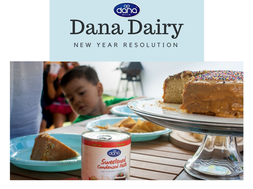 New Year Resolution At Dana Dairy - As we come close to the end of 2016 and the beginning of 2017 Dana Dairy has a resolution