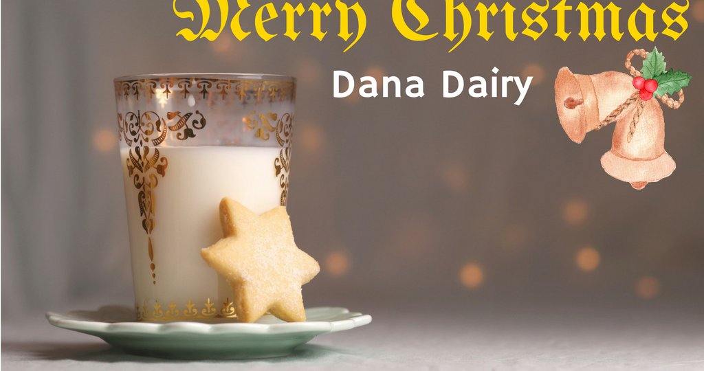 Dana Dairy wishes a very merry Christmas to every one all around the world.