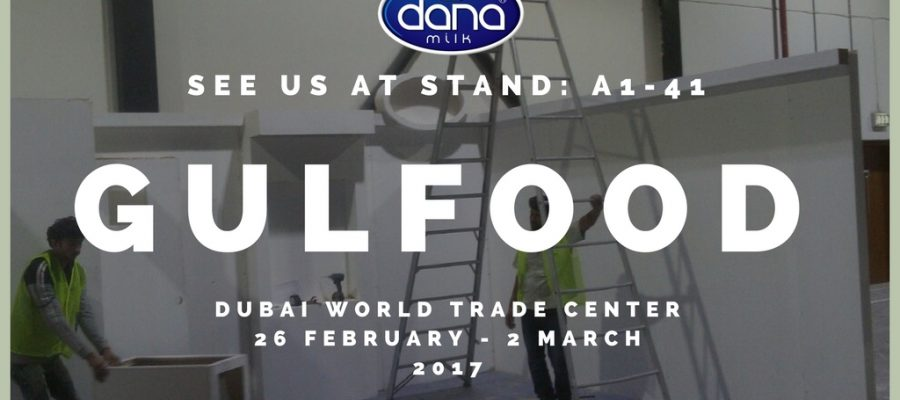 Gulfood 2017 – See Us At A1-41 Stand At Dubai World Trade Center, UAE