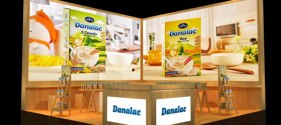 Shanghai SIAL 2017 Debuts DANALAC Baby Cereals For China