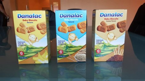DANALAC is developed and manufactured by DANA Dairy Infant Nutrition. The product comes in three flavors loved by all children and adults. It is full of vitamins, iron, and calcium. It is a great snack for teething children.
