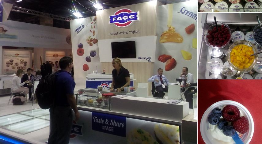 FAGE with its wonderful and delicious yogur and fruit mixes