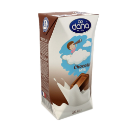 Chocolate Flavoured Milk 200ml Supplied By Dana Dairy