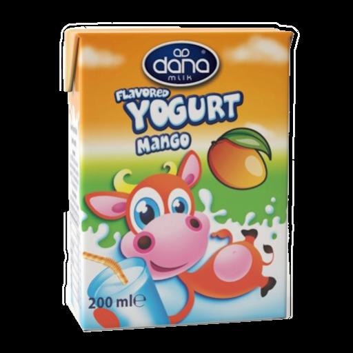 DANA Mango Flavoured Yogurt Drink 200ml - Long Life Yogurt