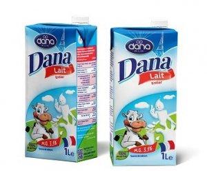 DANA Milk in Tetra Paks
