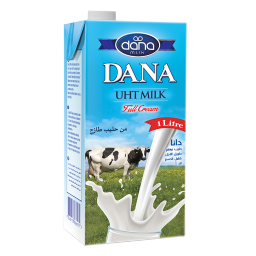 DANA UHT Long Life Milk in Tetrapaks 1ltr