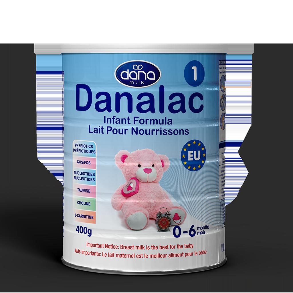 DANALAC Basic Formula With Cow Milk in Standard Tins