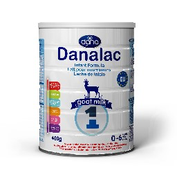 DANALAC Goat Milk Infant Formula Baby Milk in Tins - Three Stages