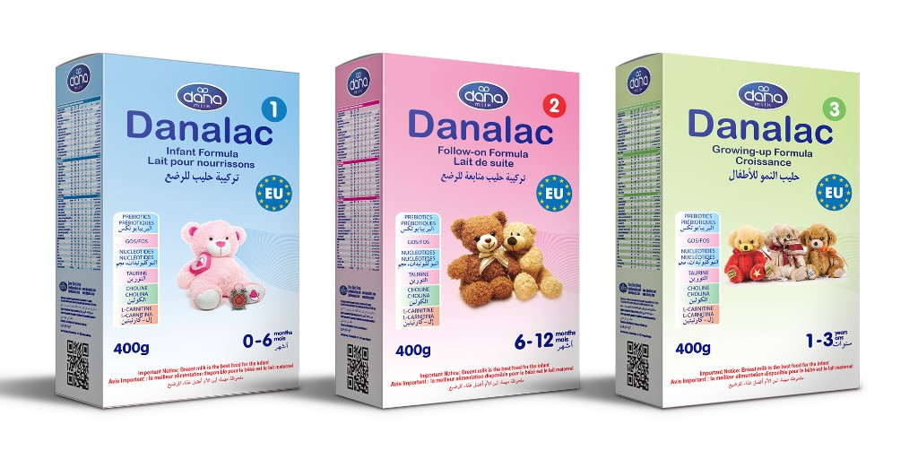 DANALAC Infant Formula in Bag-in-Box 400gr sachets