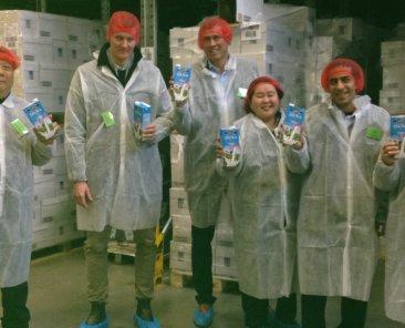 Philippines supermarket representatives visit DANA UHT milk factory