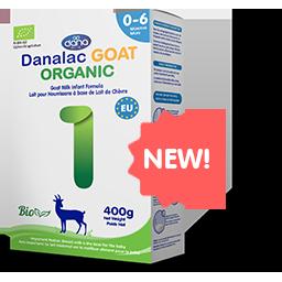 DANALAC Organic Infant Formula baby milk powder in BIB made from all natural bio ingredients