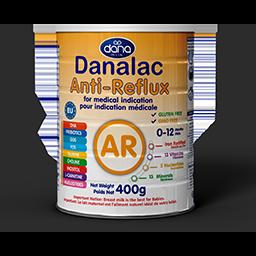 DANALAC-Anti-Reflux-AR-Formula-Fórmula AR Desde el nacimiento hasta los 12 meses de edad por indicación médica