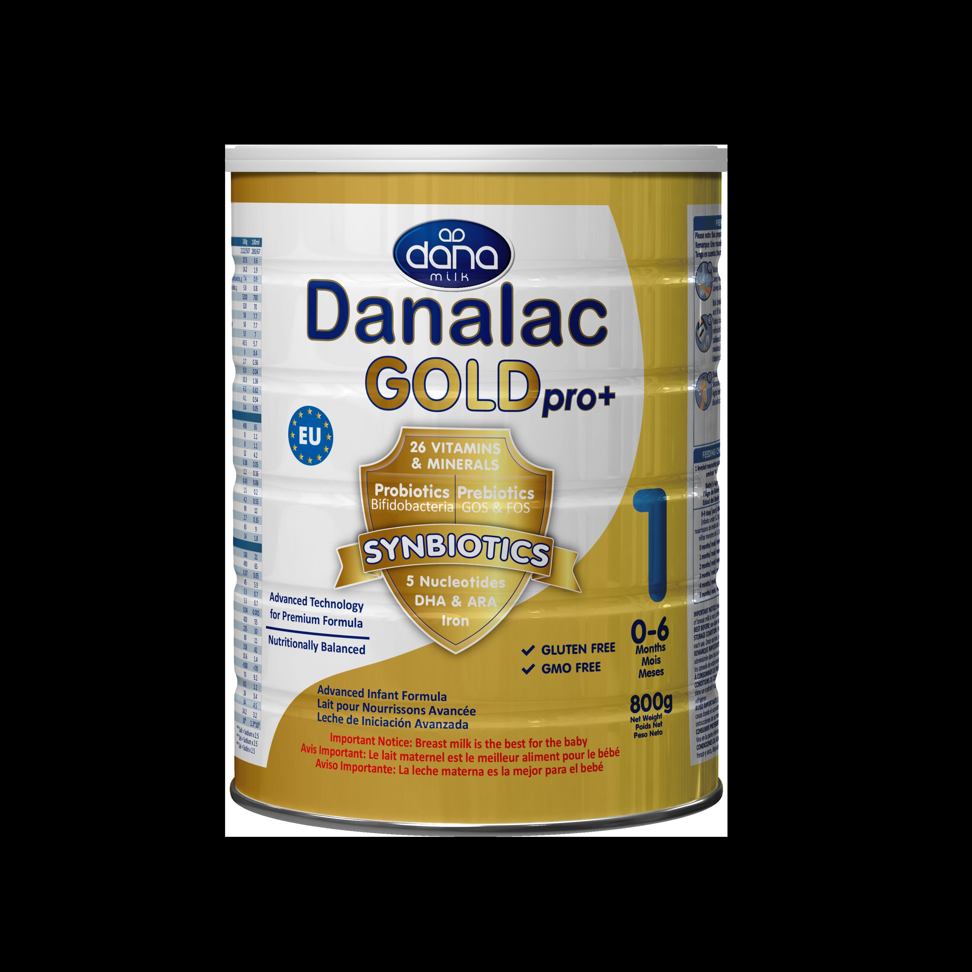 DANALAC-GOLD-bebe advance Formula-DHA-ARA-FOS-GOS-Tin