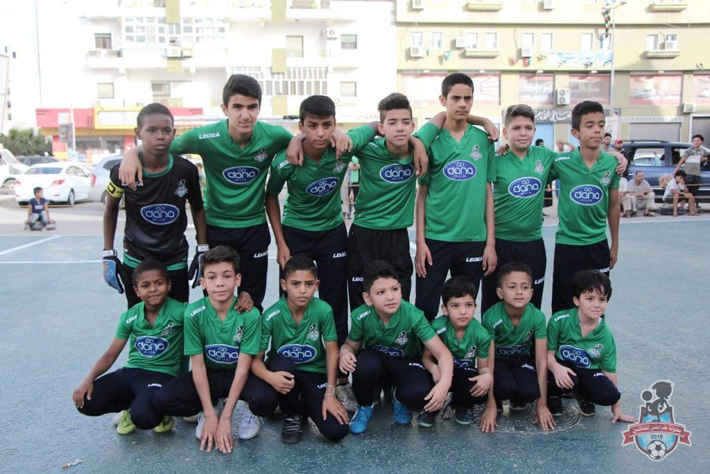 Team Dana Footbal Libya Sponsored Sports Kids Match