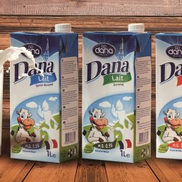 DANA long life UHT milk in 1L tetra paks are now available in Guinea Conakry in stores all over