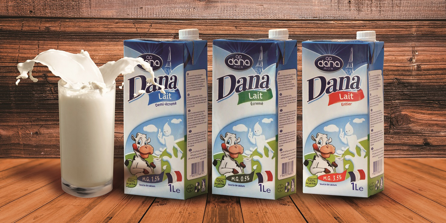 Guinea Conakry Shops Have DANA Long-Life UHT Milk