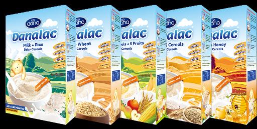 Las variedades de cereales para bebé de DANALAC con leche son el mejor alimento infantil