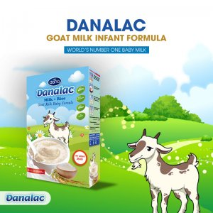 DANALAC® #goat #milk Formula for babies with sensitive stomach collection of baby related nutrition and food at Sial Paris 2018 2