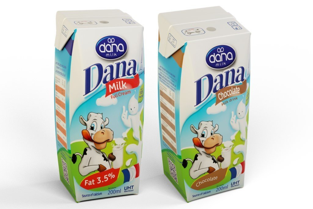 DANA 200ML UHT FULL CREAM & CHOCOLATE MILK WITH CALCIUM COCO MILK