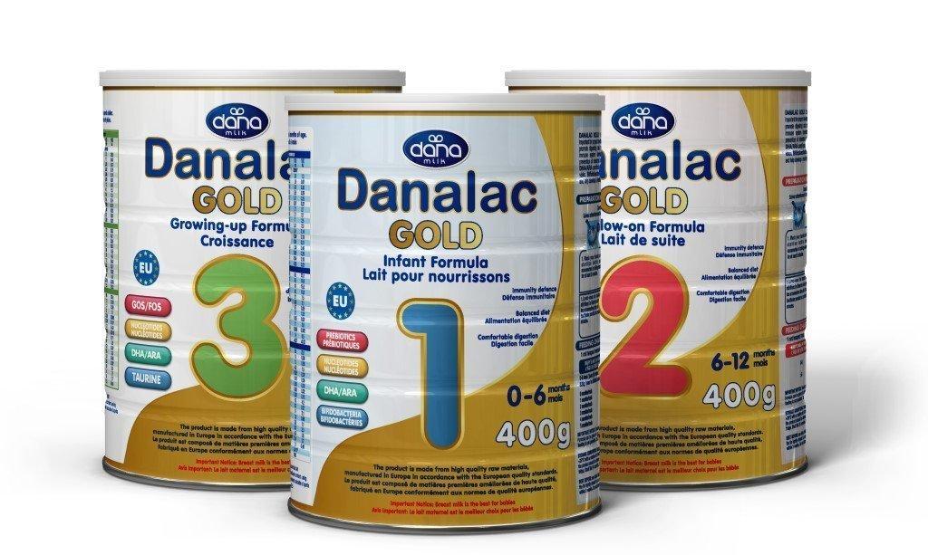 DANALAC Gold Advance Infant Formula 3 Stages Hero Image-Prebiotecs-probiotecs-dha-ara