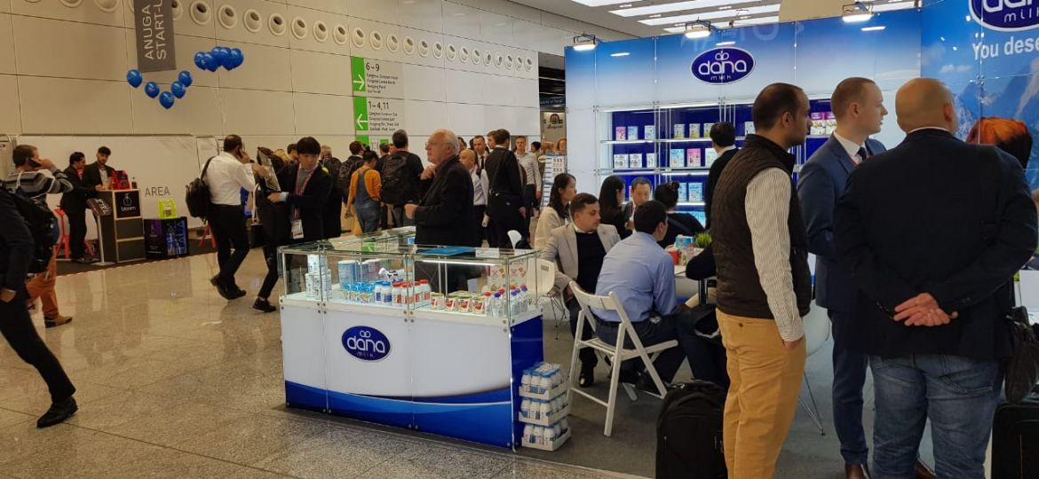 DANA Stand at ANUGA 2019