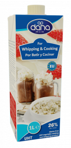 DANA Dairy Free whipping and cooking cream alternative