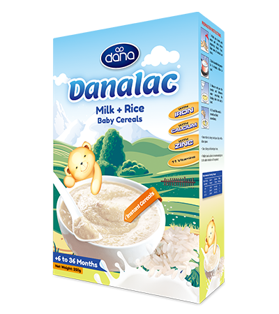 Danalac 174 Baby Cereals By Dana Dairy Factory Honey Rice