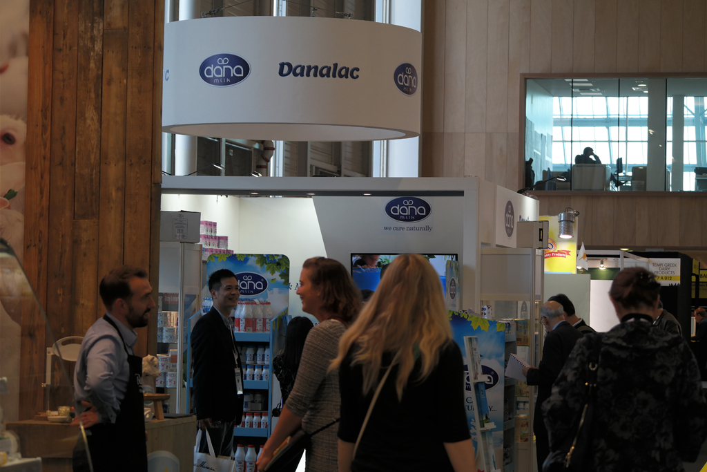 SIAL Exhibition - People Visiting Dana Dairy Stand At SIAL Paris - 4 days of non-stop visits