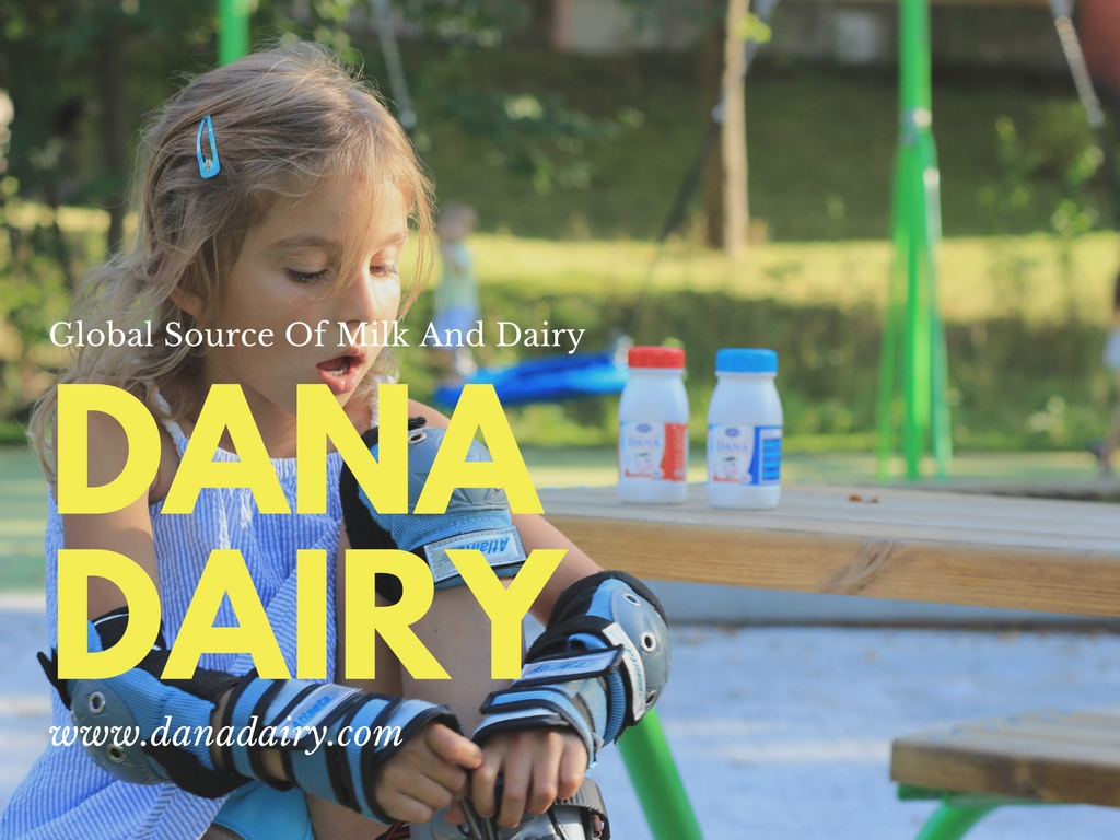 Dana Dairy UHT Milk produced in Europ