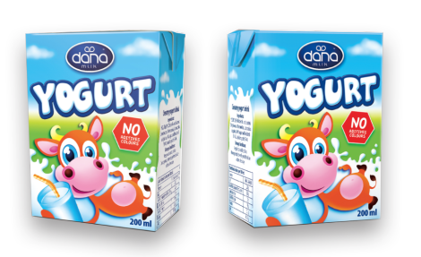 "Dana ""YOGURT"" is a personal-size yogurt drink with natural flavor. This is a long-life yogurt drink. The package is designed specifically for carry-on purposes. The package comes with a straw for easy drinking pleasures."