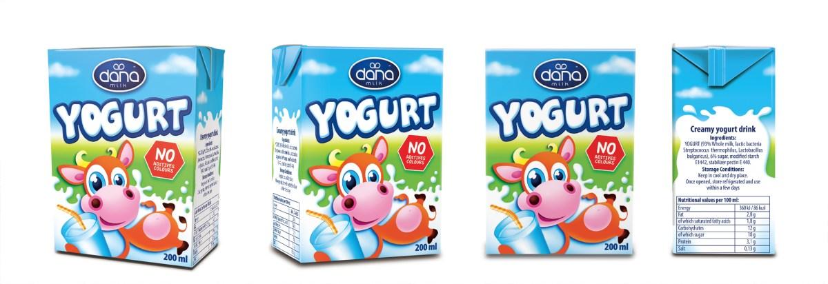 DANA AMBIENT Yogurt drink 200ml