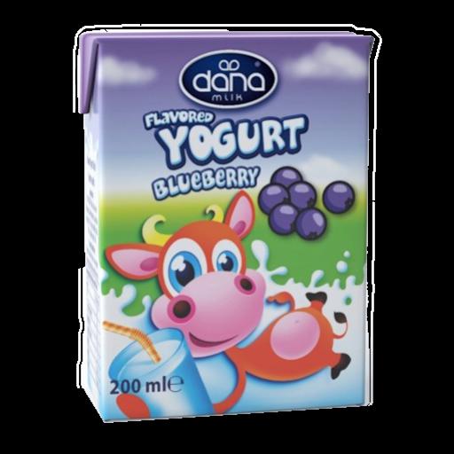 DANA Blueberry Flavoured Yogurt Drink 200ml - Long Life Yogurt