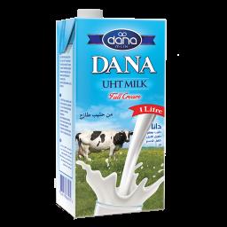 DANA UHT Long Life Milk in Tetrapaks 1ltr