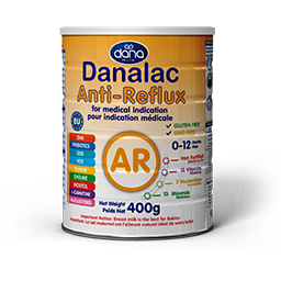 DANALAC Anti-Reflux AR Formula GOS FOS for medical indication