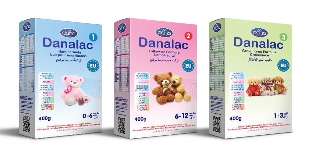 DANALAC Infant Formula in Bag-in-Box 400gr sachets