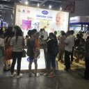 DANA DAIRY Stand at CBME China, 2018 in Shanghai - Crowd Welcome DANALAC Infant Nutrition Products