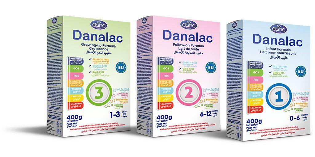 Fórmula Infantil DANALAC Bolsa en una Caja