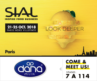 DANA Dairy and DANALAC will be at SIAL Paris 2018 at booth 7 A 114 in France