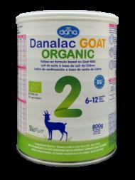 DANALAC Organic Goat Milk Formula Stage 2